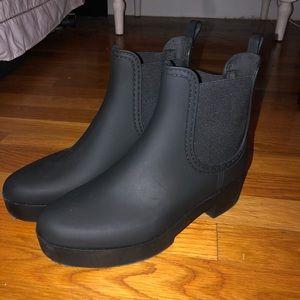 Jeffrey Campbell Chelsea Rain Booties